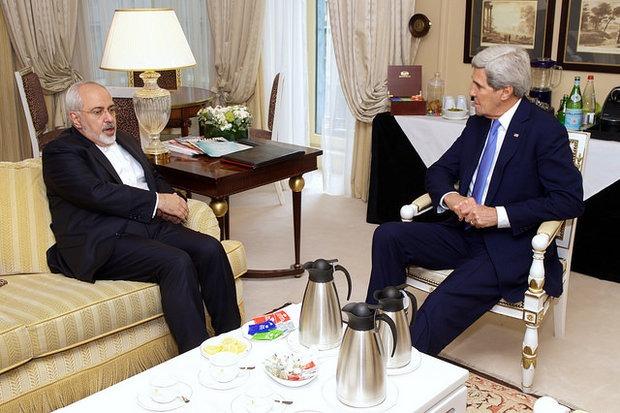 وزرای خارجه ایران و آمریکا دیدار کردند