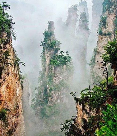 تصاویری دیدنی از مناطق بکر و زیبا در جهان