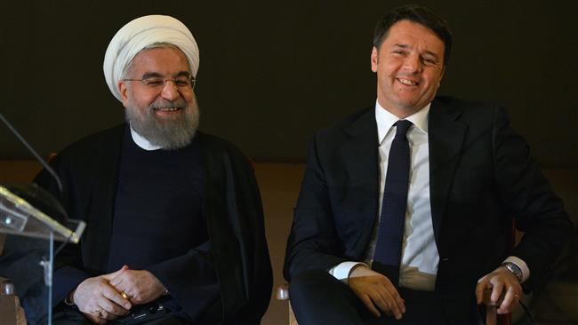 نخست وزیر ایتالیا در صدر یك هیات بلندپایه وارد تهران شد