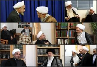 تمجید مراجع و علما از تلاش ها و خدمات دولت روحانی؛ شما رئیس جمهور موفقی هستید (+تصاویر و جزئیات)