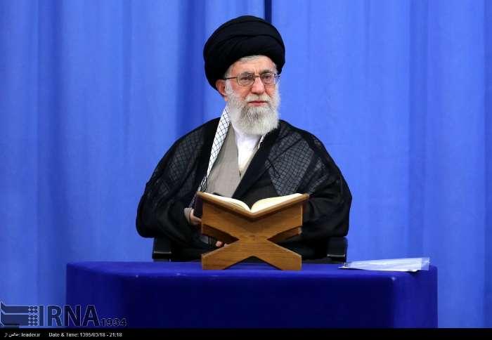 محفل انس با قرآن با حضور رهبر معظم انقلاب