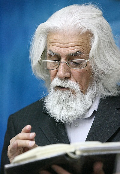 وداع پدر شعر انقلاب