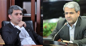 دو مدیر شاخص بانکی آبی پوش شدند
