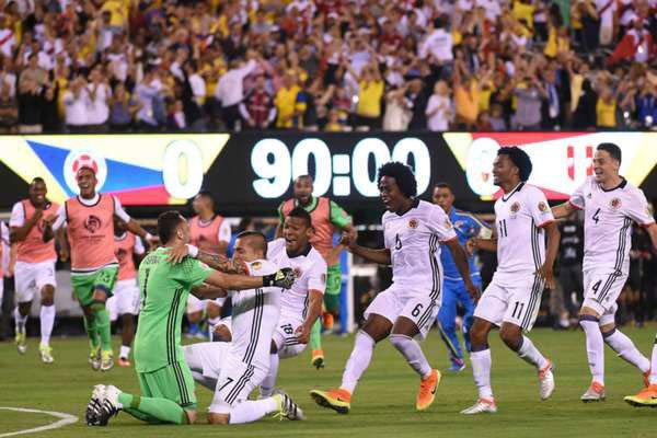 کلمبیا با شکست پرو به نیمه نهایی رسید/در انتظار برنده شیلی- مکزیک