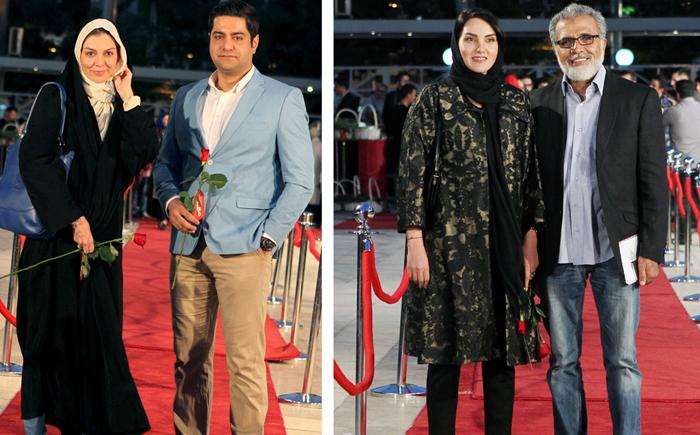 """(تصاویر) چهرهها در شانزدهمین جشن """"حافظ"""""""