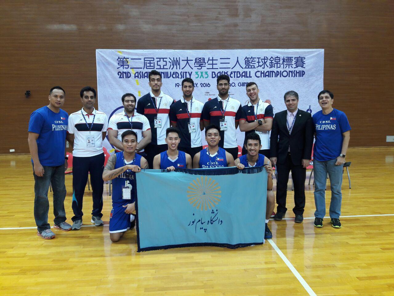 رقابتهای بسکتبال 3*3 دانشجویان دانشگاههای آسیا با شروع طوفانی بسکتبالیست های دانشگاه پیام نور مقابل تیم برونئی آغاز شد.