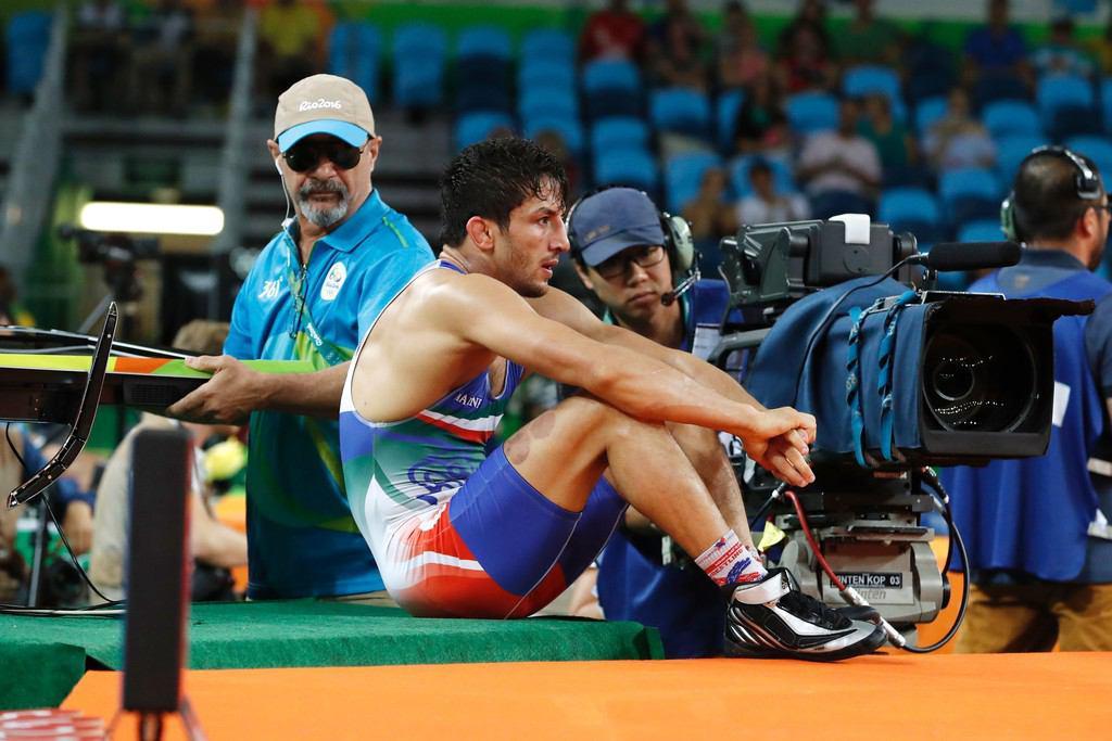 وداع تلخ نابغه از المپیک/سوریان ضربه فنی شد