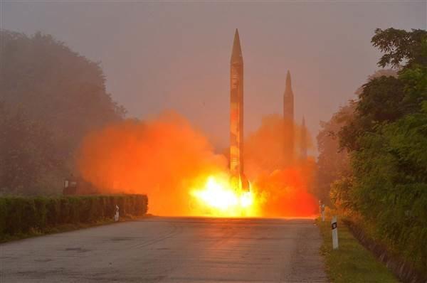 آزمایش موشک بالستیک از سوی کره شمالی و واکنشها