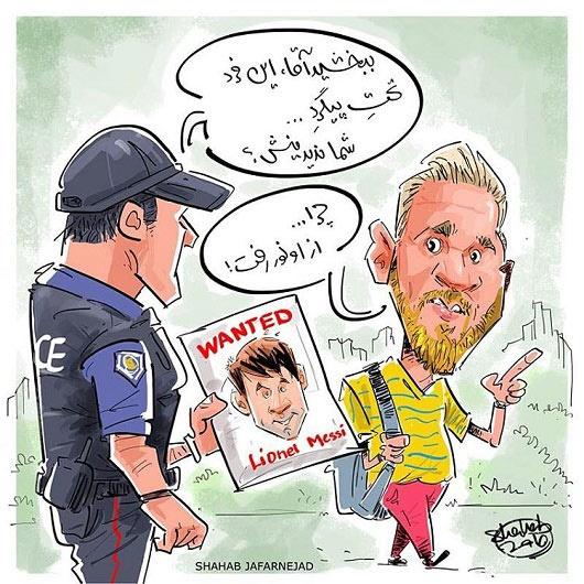کاریکاتور/ علت تغییر چهره مسی لو رفت!