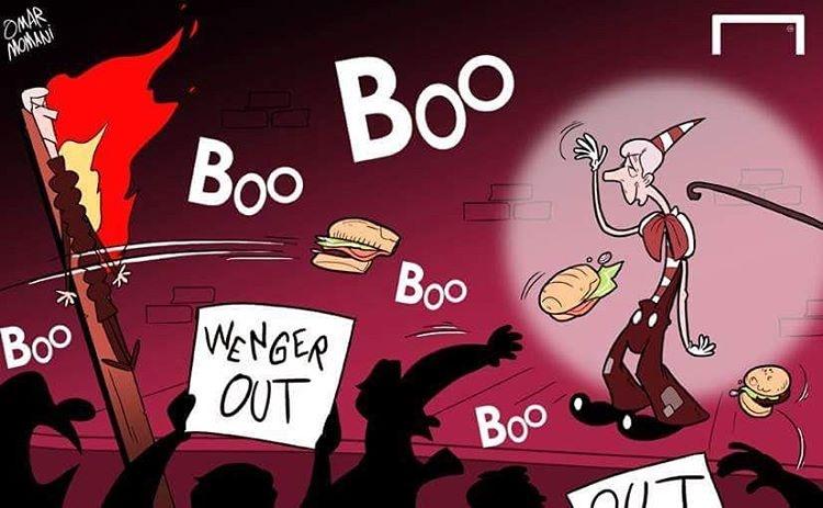 کاریکاتور/حمله به سرمربی بهخاطر باخت سنگین!