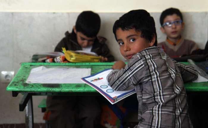 کامیاران/مدرسه سازی بنیاد برکت در روستاهای شاهینی و خانم آباد
