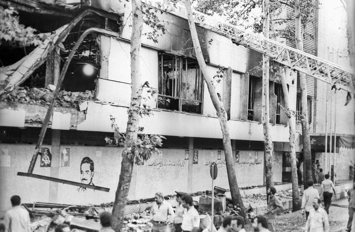 8 شهریور 1360 – انفجار بمب در ساختمان نخست وزیری و شهادت رجایی و باهنر