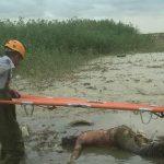کشف یک جسد غرق شده در سیل گرگان