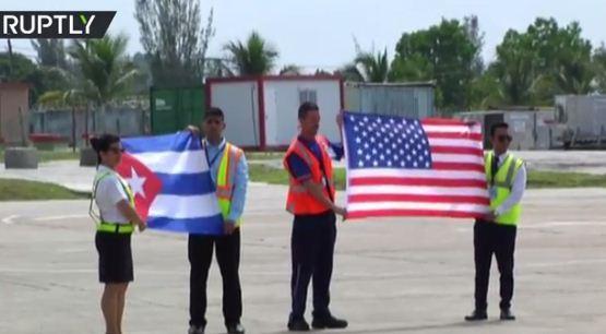 آغاز پرواز مسافربری میان آمریکا و کوبا بعد از 55 سال