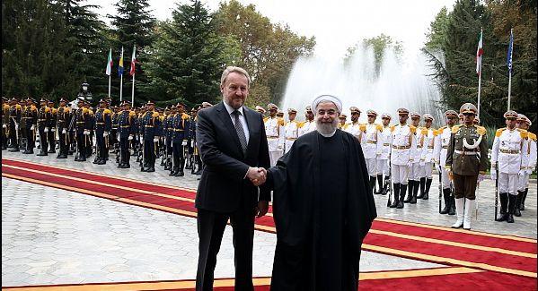 استقبال رسمی دکتر روحانی از رییس شورای ریاست جمهوری بوسنی و هرزگوین
