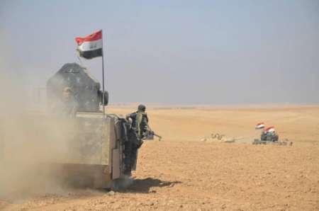 نیروهای عراقی در ورودی شهر موصل