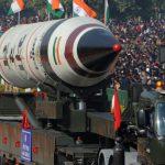 نمایش موشک اگنی پنج، در جریان رژه روز جمهوری هند در دهلی نو 26 ژانویه 2013