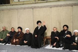 مراسم ترحیم حجتالاسلام والمسلمین هاشمی در حسینیه امام خمینی(ره)