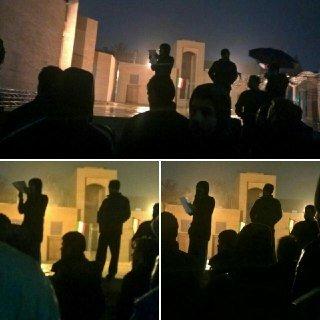 تجمع اعتراضی دانشجویان کوی + توضیحات معاون دانشجویی دانشگاه تهران