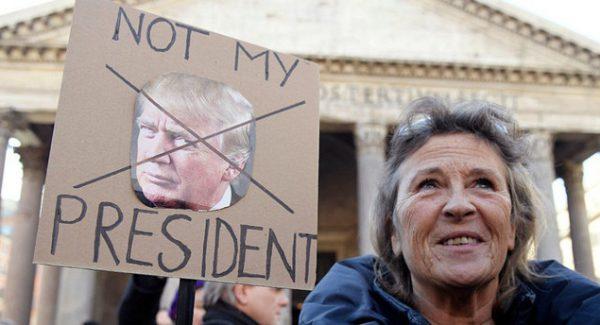 تظاهرات زنان علیه ترامپ از واشنگتن تا قطبجنوب