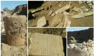 توقیف جرثقیل ۱۰ میلیاردی در عسلویه/ کشف قبرستانی مربوط به قرن هفتم هجری در لارستان (+عکس)