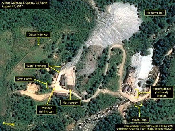 کره شمالی در حضور خبرنگاران سایت هستهای خود را نابود میکند