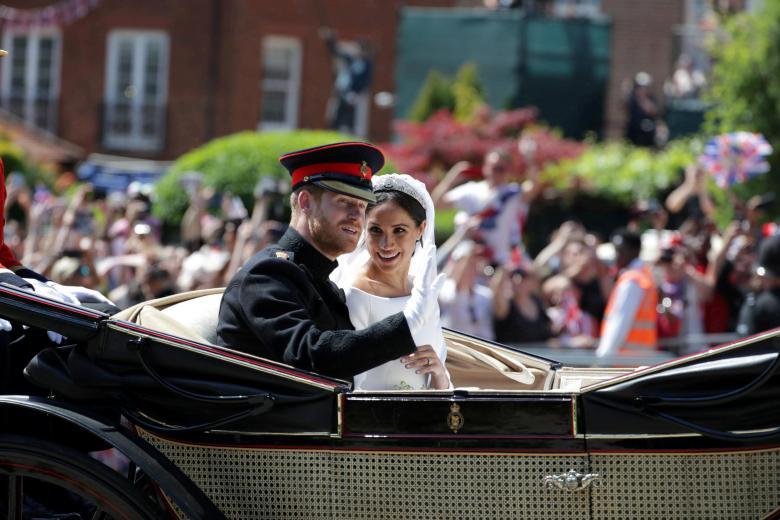 مراسم ازدواج سلطنتی شاهزاده هری و مگان مرکل