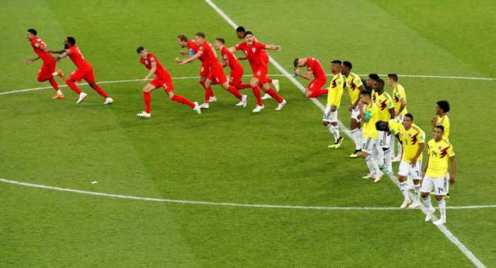انگلیس ۱ (۴)- کلمبیا ۱ (۳)