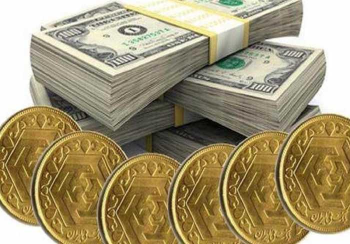 قیمت طلا، قیمت دلار، قیمت سکه و قیمت ارز امروز ۹۷/۰۵/۲۹