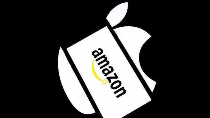 کاهش ۱۰۰ میلیارد دلاری ارزش اپل و آمازون