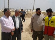 بازید دکتر ناجی از مناطق سیل زده خوزستان + گزارش تصویری