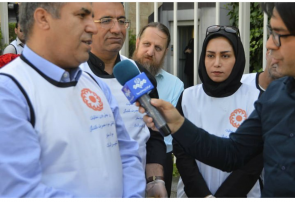 اقدام قابل توجه مدیرکل بهزیستی استان تهران به مناسبت هفته بدون دخانیات / الگو بودن بیات نژاد برای مدیران کشوری + عکس