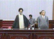 تصویری قدیمی از آیتالله خامنهای در کره شمالی