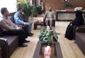 رئیس دانشگاه پیام نور هرمزگان در دیدار با رئیس کل دادگستری استان: استقلال قضات از جایگاه ویژه ای برخور دار است