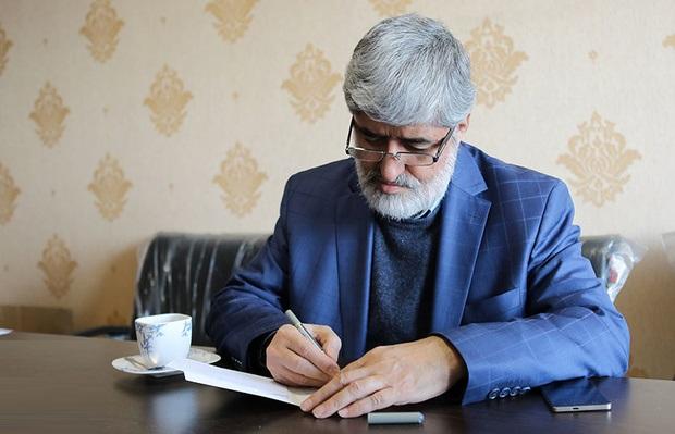 انتقاد علی مطهری از حکم زندان محمدرضا خاتمی + عکس