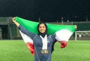 افتخار آفرینی دانشجوی دانشگاه پیام نور سبزوار در مسابقات بین المللی دو میدانی