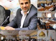 جلسه شورای فرماندهان پایگاه بسیج ادارات استان به میزبانی دانشگاه پیام نور استان قم