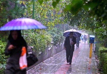 نفوذ سامانه بارشی در استان تهران از روز چهارشنبه