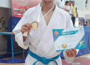 قهرمانی دانشجوی دانشگاه پیامنور همدان در مسابقات کاراته آسیا