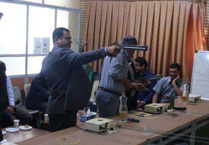 افتتاح تنها باشگاه تیراندازی استان چهارمحال و بختیاری در دانشگاه پیام نور مرکز شهرکرد
