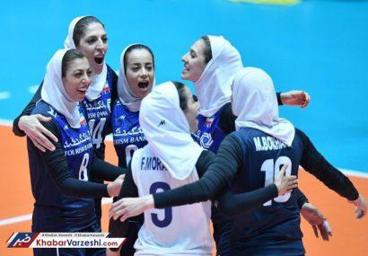 تصاویر دیدار والیبال زنان ایران و تایلند