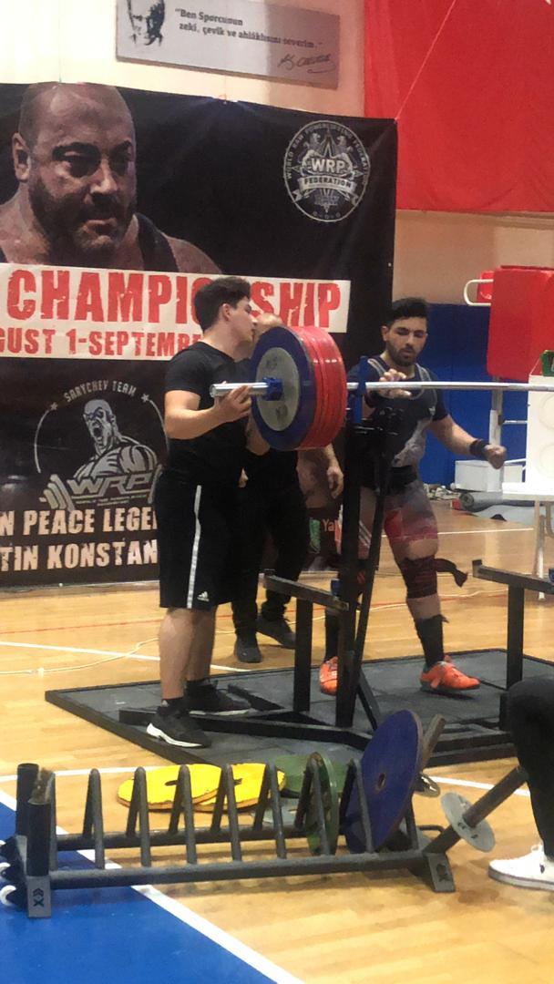 موفقیت جدید ورزشکار پیام نوری در مسابقات قهرمانی آسیا در ترکیه