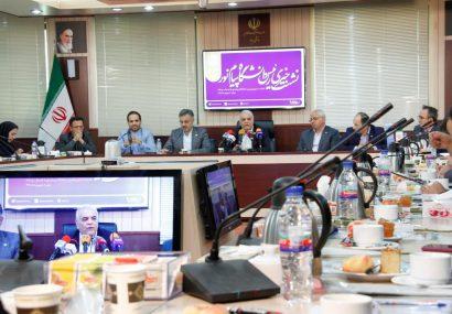 نشست خبری رئیس دانشگاه پیام نور با اصحاب رسانه