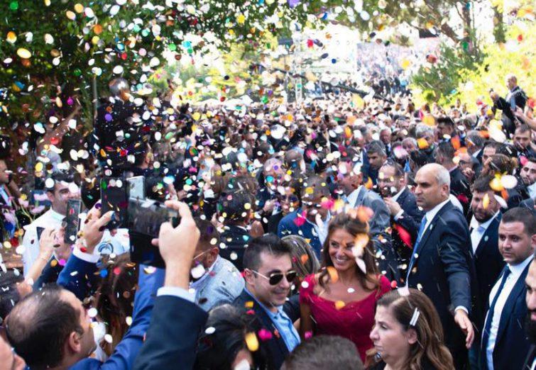 جشن عروسی پسر سیاستمدار معروف لبنان
