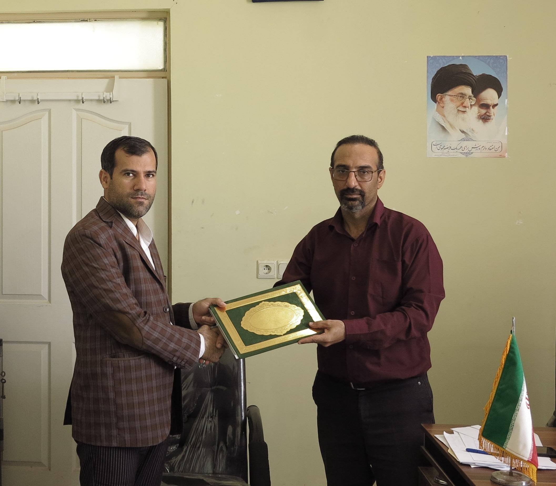 رئیس دانشگاه پیام نور ابوموسی مسول هیئت پینگ پنگ شهرستان شد