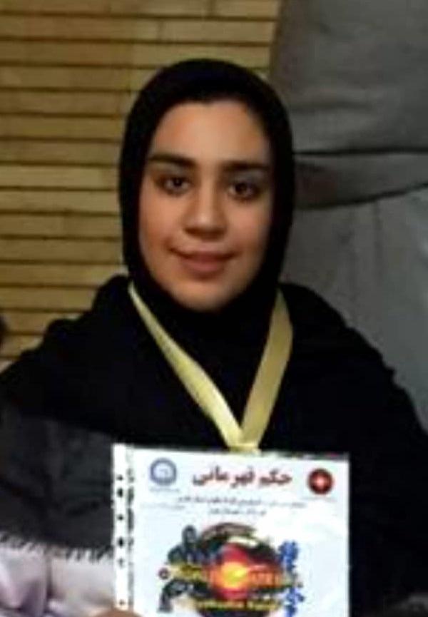 کسب مقام اول مسابقات قهرمانی سوکیوکوشین کاراته  استان فارس توسط دانشجوی دانشگاه پیام نور جهرم