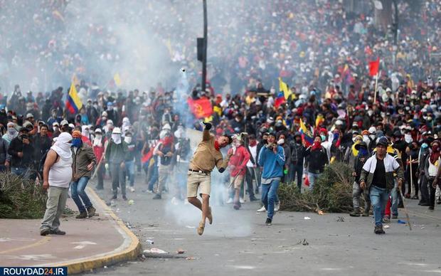 اعتراضات خیابانی در اکوادور