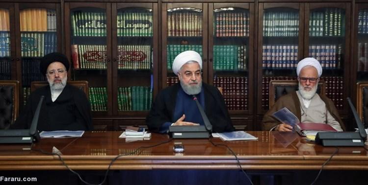 درگیری روحانی و رحیمپور ازغدی در جلسه شورای عالی انقلاب فرهنگی