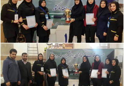 دانشجویان دختر دانشگاه پیام نور قهرمان تیراندازی دانشگاه های منطقه ۴ کشور شدند