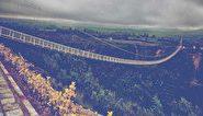 رونمایی از اولین پل معلق شیشهای جهان در اردبیل +فیلم